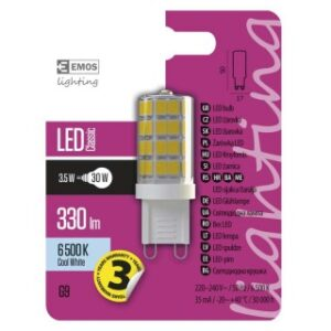 LED CLS JC A++ 3,5W G9 CW