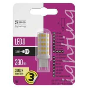 LED CLS JC A++ 3,5W G9 WW
