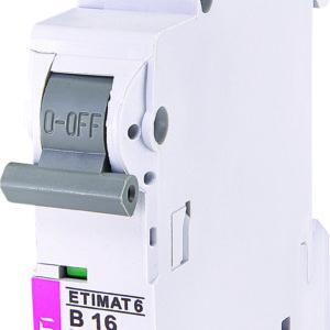 Automatski osigurac 1P ETI B 16A 6KA (2111516)