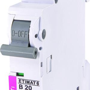 Automatski osigurac 1P ETI B 20A 6KA (2111517)