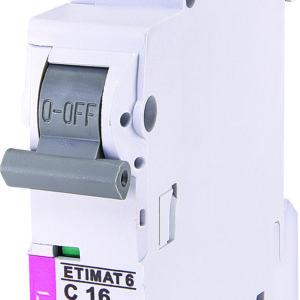 Automatski osigurac 1P ETI C 16A 6KA (2141516)