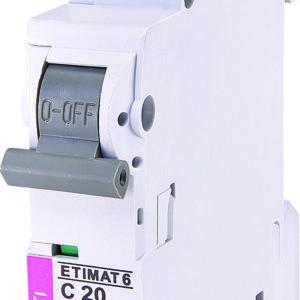 Automatski osigurac 1P ETI C 20A 6KA (2141517)