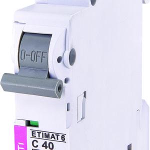 Automatski osigurac 1P ETI C 40A 6KA (2141520)