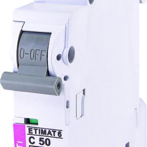 Automatski osigurac 1P ETI C 50A 6KA (2141521)
