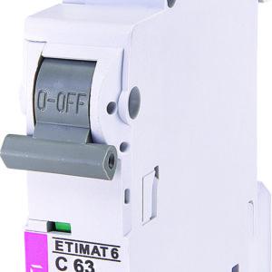 Automatski osigurac 1P ETI C 63A 6KA (2141522)