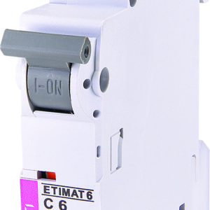 Automatski osigurac 1P ETI C 6A 6KA (2141512)