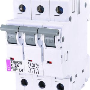Automatski osigurac 3P ETI C 25A 6KA (2145518)
