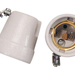 GRLA Grlo porcelan sa metalnimdrzacem E27 250V