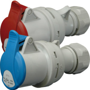Ind.uticnica na kabel 32A 5P 400V 3P+N+PE ETI CEE IP44