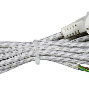 Kabel prik. za peglu H03RT-H 3x0.75L=2m 1300W 6A