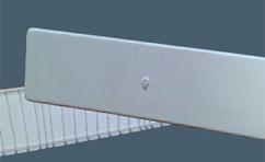 PVC poklopac za automatske osigurace bela