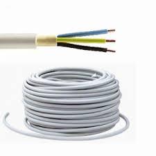 (Z) PP 2x1.5 Uzidni instalacijski kabel siva(NYM)