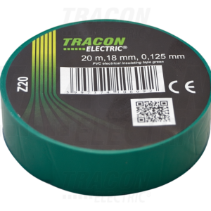 PVC izolir traka 20mX19mm zelena