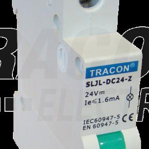 Signalna lampa LED za nizanjezelena 230V