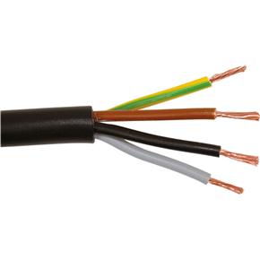 (Z) PP-J 3x1.5 crna Licnasti kabel (H05VV-F)