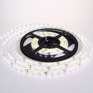 Broj LED dioda 60 / m Snaga po m (W/m) 9.6 Napon (V) 12V AC Boja svetla (K) Prirodno bela 4500K Lumen (lm) 840 Dimenzije (mm) 10 IP zastita IP 65