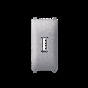 74289.S USB PUNJAC 1M SILVER