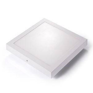 Snaga (W) 24 Napon (V) 220-240V AC / 50-60Hz Boja svetla (K) Hladno bela 6000-6500K Dimenzije (mm) 297x297