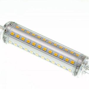 Snaga (W) 10 Napon (V) 220-240V AC / 50-60Hz Tip grla R7S Boja svetla (K) Hladno bela 6000-6500K Dimenzije (mm) 118