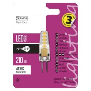 LED CLS JC A++ 2W G4 NW