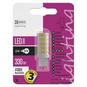 LED CLS JC A++ 3,5W G9 NW