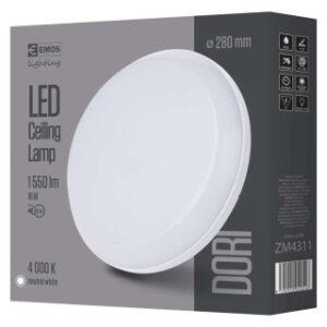 LED PANEL DORI OKRUGLA IP54-18W-NW W