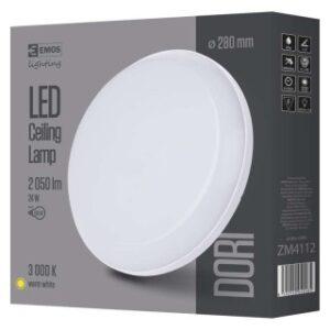 LED PANEL DORI OKRUGLA IP54-24W-WW W