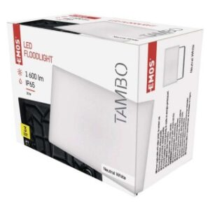 LED REFLEKTOR EMOS TAMBO 20W NW ALUMINIJUM IP65 ZS2521