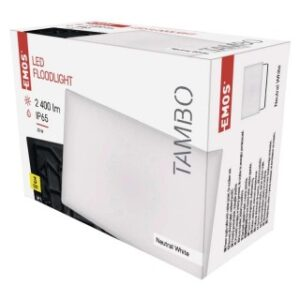 LED REFLEKTOR EMOS TAMBO 30W NW ALUMINIJUM IP65 ZS2531