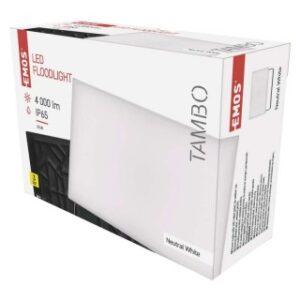 LED REFLEKTOR EMOS TAMBO 50W NW ALUMINIJUM IP65 ZS2541